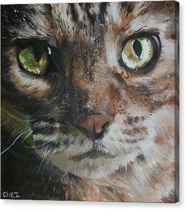 CaT Canvas Print by Cherise Foster