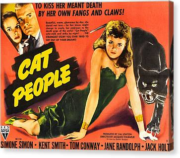 Jack Kent Canvas Print - Cat People by Studio Release