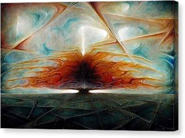 Cataclysmic Canvas Print by Robert Anderson