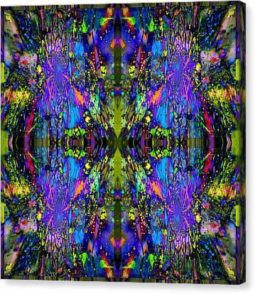 Cataclysmic Symphony Canvas Print by Robert Kernodle