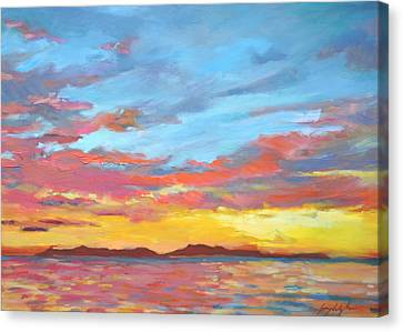 Catalina Aglow Canvas Print