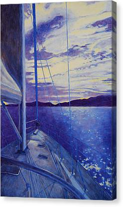 Catalina Canvas Print by Andrew Danielsen