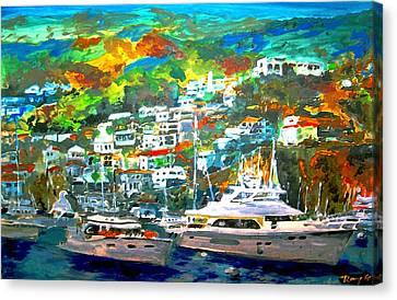 Catalina Island 3 Canvas Print by Rom Galicia