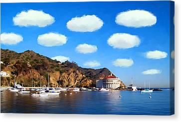 Catalina Panorama Canvas Print