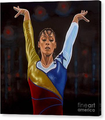 Athens Canvas Print - Catalina Ponor by Paul Meijering