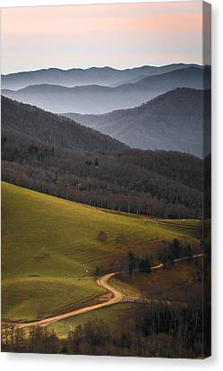 Cataloochee Valley Sunrise Canvas Print