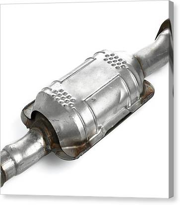 Catalytic Converter Canvas Print by Science Photo Library