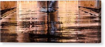 Catamaran Abstract Canvas Print by Karen Wiles