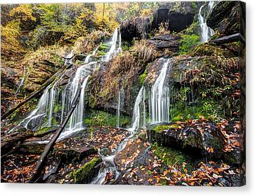 Catawba Falls Canvas Print by Scott Moore