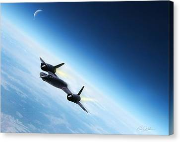 Catch Me If You Can  Canvas Print by Peter Chilelli