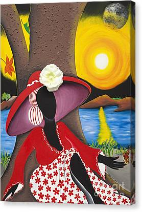 Catch Me In The Morning II Canvas Print