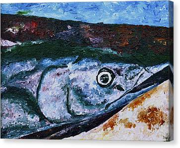 Catch Of The Day 1 Canvas Print