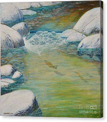Catch Of The Day...maybe? Canvas Print