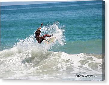 Catching Air Canvas Print by Marty Gayler