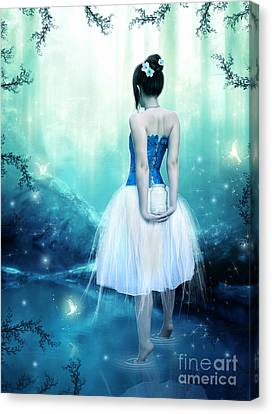 Catching Fairies Canvas Print