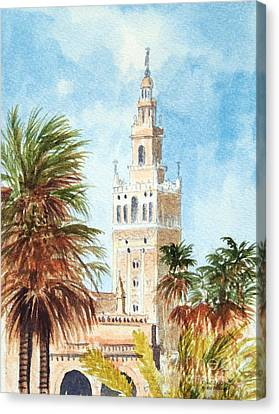 Catedral De Sevilla Canvas Print