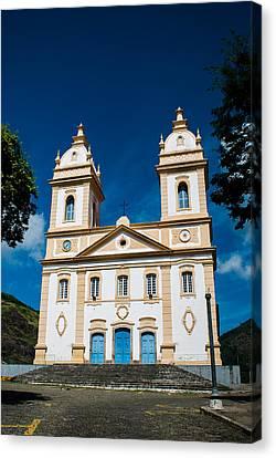 Catedral Nossa Senhora Da Gloria - Valenca Brazil Canvas Print by Igor Alecsander