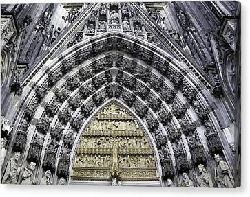 Cathedral Arch 2 Canvas Print by Teresa Mucha