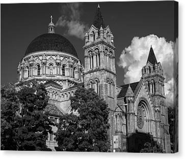 Cathedral Basilica Of St. Louis Canvas Print by Scott Rackers