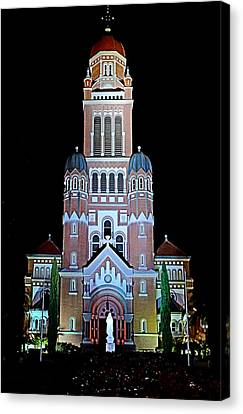 Canvas Print featuring the photograph Cathedral by Cecil Fuselier