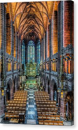 Cathedral Chapel Canvas Print by Adrian Evans