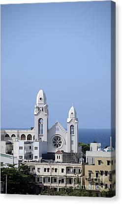 Cathedral De San Juan Canvas Print