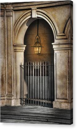 Cathedral Gate Canvas Print by Brenda Bryant