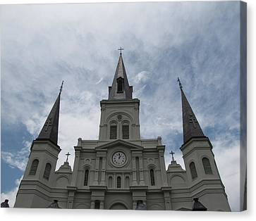 Canvas Print featuring the photograph Cathedral I by Beth Vincent