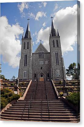 Cathedral In Midland Ontario Canvas Print by Marek Poplawski