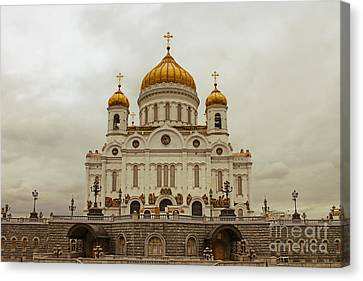 Cathedral Of Christ The Saviour Canvas Print by Lars Ruecker