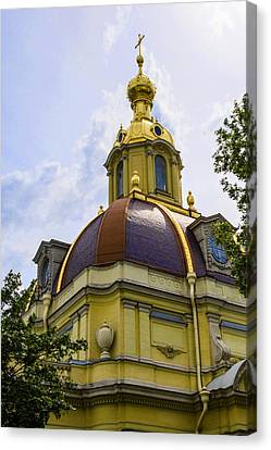 St John The Russian Canvas Print - Cathedral Of Saints Peter And Paul by Jon Berghoff