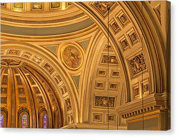 Cathedral Of The Sacred Heart 3 Canvas Print by Jemmy Archer