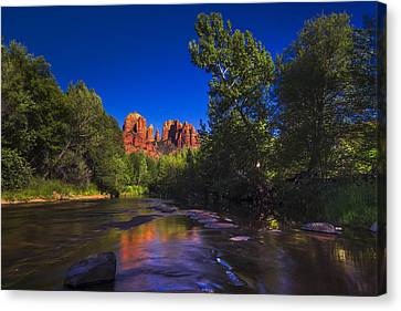 Cathedral Rock 2 Canvas Print by Giovanni Allievi