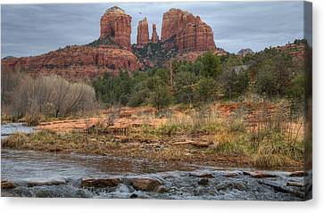 Cathedral Rock Canvas Print by Darlene Bushue