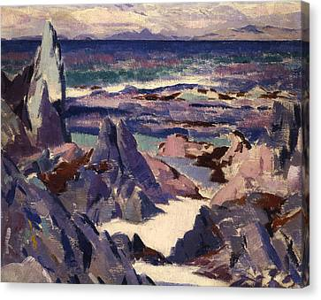 Cathedral Rock Canvas Print by Francis Campbell Boileau Cadell