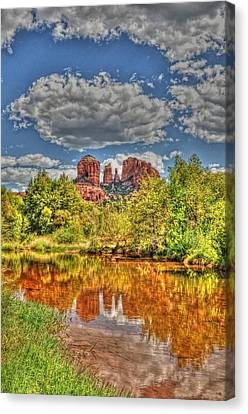 Cathedral Rock Painted Canvas Print