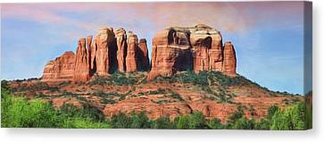 Cathedral Rock - Sedona Canvas Print by Lori Deiter