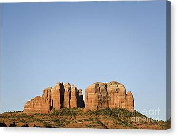 Cathedral Rock Vi Canvas Print by Dave Gordon