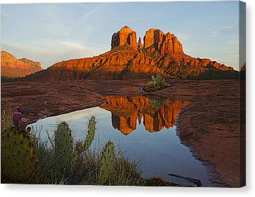Cathedral Rock's Bath 0299 Canvas Print