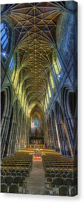 Cathedral Vertorama Canvas Print by Ian Mitchell