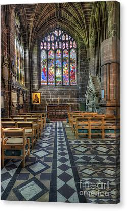 Cathedral Window Canvas Print by Ian Mitchell