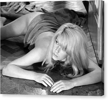 Catherine Deneuve In Repulsion  Canvas Print by Silver Screen