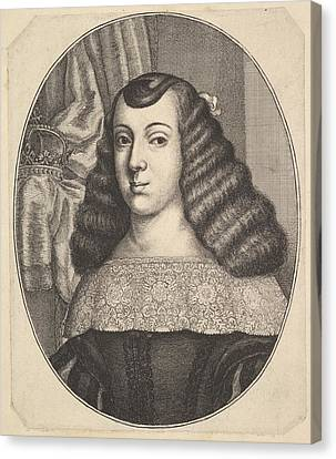 Catherine Of Braganza Canvas Print