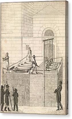 Cato Street Conspiracy Executions, 1820 Canvas Print by British Library