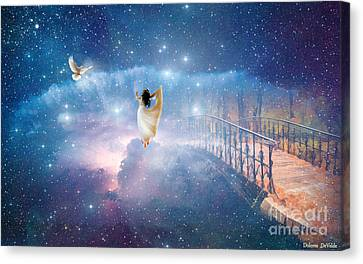 Caught Up Canvas Print by Dolores Develde