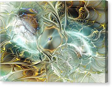 Caustic Canvas Print