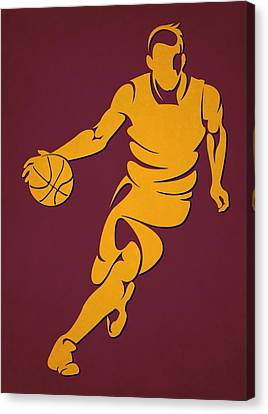 Cavaliers Basketball Player4 Canvas Print by Joe Hamilton