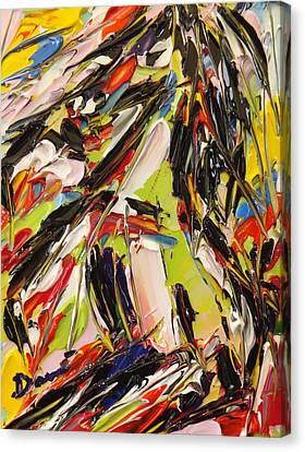 Cavallo In Colore Canvas Print