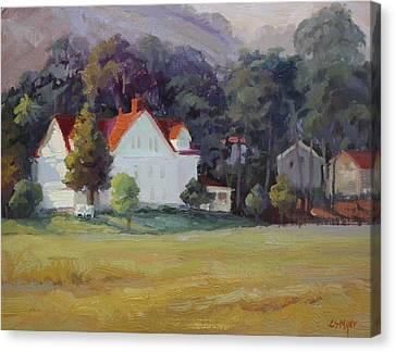 Cavallo Point Canvas Print by Carol Smith Myer