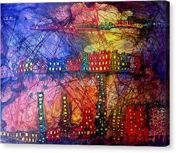 Cave City Canvas Print by Isaac Alcantar